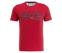 T-Shirt M.C. - dunkelrot