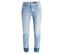 7/8-Jeans - breaking blue wash