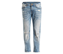 Destroyed-Jeans ROCCO - blau