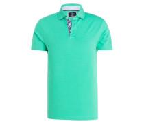 Piqué-Poloshirt Slim-Fit - hellgrün