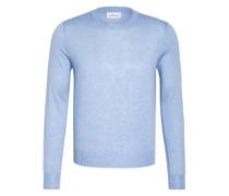 Cashmere-Pullover mit Seide
