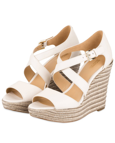 Wedges ABBOTT - CREME/ METALLIC