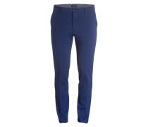 Chino MOTT Super Slim-Fit - blau