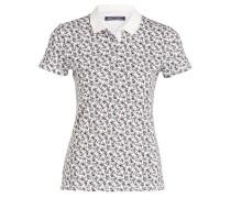 Piqué-Poloshirt TECLA - weiss