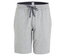 Sleep-Shorts - grau meliert
