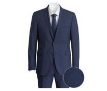 Anzug SCOR-MERCER Slim-Fit - navy/ blau