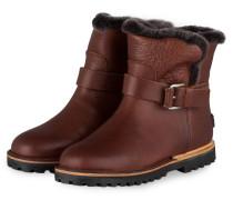 Biker-Boots - braun