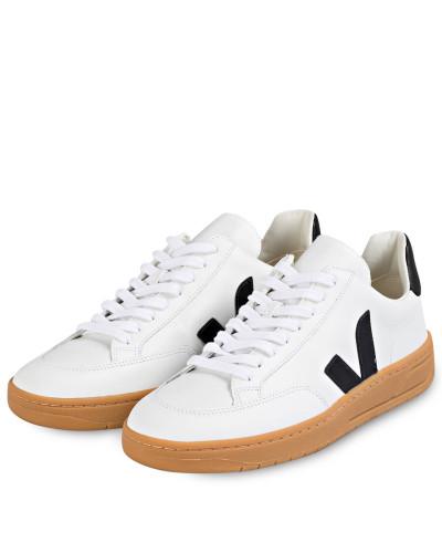 Sneaker V-12 - WEISS/ SCHWARZ