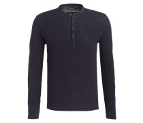 Henley-Shirt SACO - blau