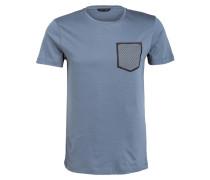 T-Shirt - graublau