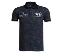 Poloshirt MASERATI Slim-Fit - blau