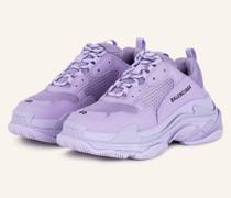 Plateau-Sneaker TRIPLE S - HELLLILA