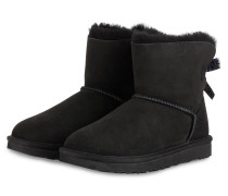 Boots MINI BAILEY BOW II EXOTIC - SCHWARZ