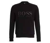 Sweatshirt SALBO Slim-Fit - schwarz/ rot