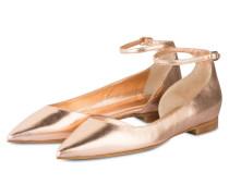 Ballerinas - rosé metallic