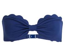 Bandeau-Bikini-Top ANTIBES - blau