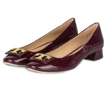 Lack-Pumps GIGI - bordeaux