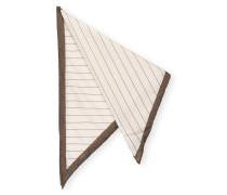 Dreieckstuch mit Seide