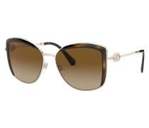 Sonnenbrille BV6128B mit Schmucksteinbesatz