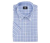 Halbarm-Hemd GRAY Comfort-Fit - blau