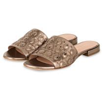 Sandalen - bronze metallic