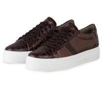 Plateau-Sneaker BIG - BRAUN