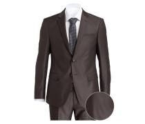 Anzug HERBY-BLAYR Slim-Fit - graubraun