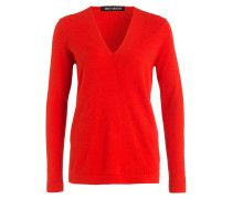 Cashmere-Pullover DARLENE - rot