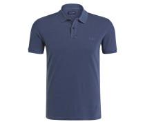 Piqué-Poloshirt - dunkelblau
