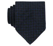 Krawatte - dunkelblau/ grau