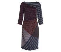 Kleid GAVINO - navy/ schwarz/ rot