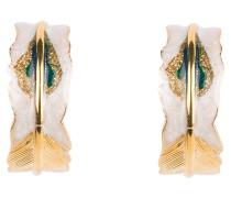 Ohrring PENNA - gold/ grün