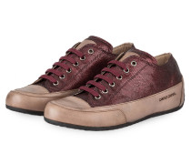 Sneaker ROCK - bordeaux/ grau