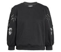 Sweatshirt ZITA mit Paillettenbesatz