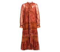 Kleid EDIE mit Volantbesatz