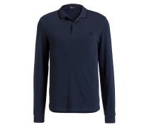 Piqué-Poloshirt - navy