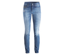 Skinny-Jeans PARLA - dark blue used