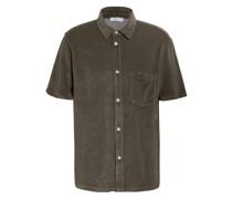 Kurzarm-Hemd Comfort Fit aus Frottee