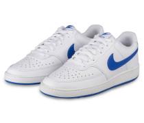 Sneaker COURT VICION LOW - WEISS/ BLAU