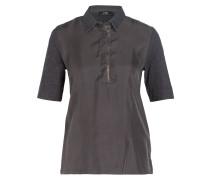 Poloshirt - grau meliert