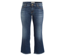 Cropped-Jeans EDEN - blue used