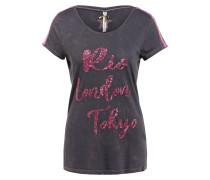 T-Shirt CAPITAL mit Glitzergarn und