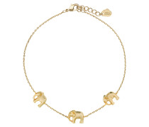 Armband ELEPHANT FAMILY - gold