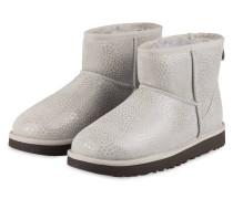 Fell-Boots CLASSIC MINI GLITZY - hellgrau