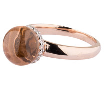 Ring PREZIOSA - roségold/ morganite