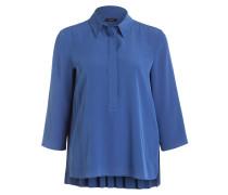 Bluse mit 3/4-Arm - blau