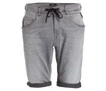 Jeans-Shorts HYPERFREE - 009 grey