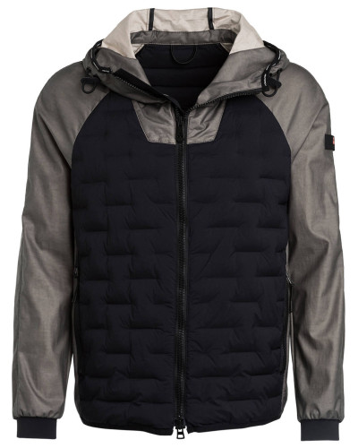 Steppjacke QUEERS im Materialmix