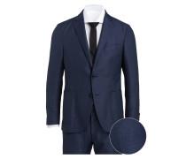 Anzug SERINO-SOCI Shaped-Fit - blau