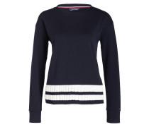 Pullover CORINE - dunkelblau/ weiss